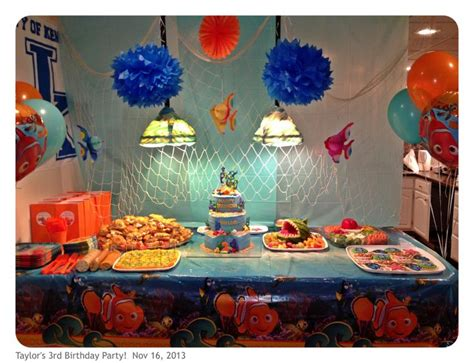 42 best images about finding theme on pinterest finding nemo party taylor s birthday party pinterest