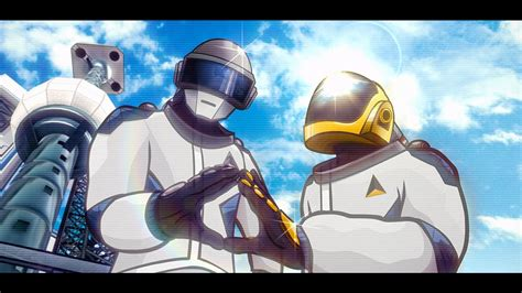 daft punk anime quot give life back to music quot daft punk animated music video