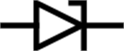 simbol dioda vector zener diode symbol clip at clker vector clip royalty free domain