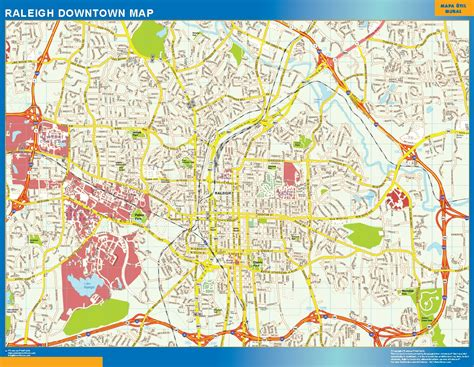 raleigh map world wall maps store raleigh downtown map more than 10 000 maps our raleigh