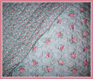 items similar to pre quilted sided fabric shabby