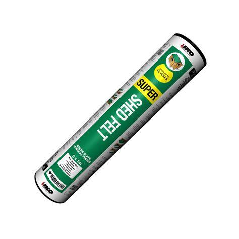 iko shed felt green mineral 8m x 1m roll