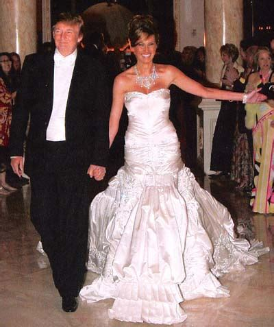donald trump wedding melania trump wedding dress sang maestro