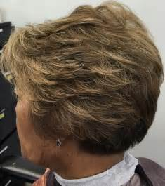 easy hairstyles for 70 feathered gray hairstyles pictures of older women short hairstyle 2013