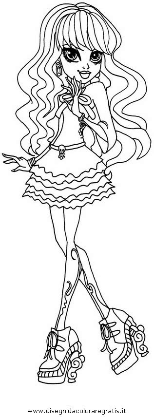 monster high twyla coloring pages free coloring pages