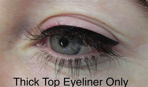winged eyeliner tattoo thick permanent eyeliner actual client permanent