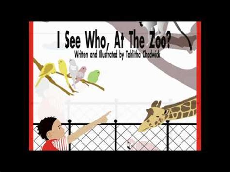 story i children s story i see who at the zoo youtube