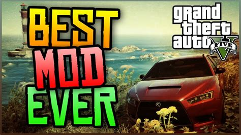 best mod game ever gta 5 pc mods best gta 5 pc mod ever gameplay youtube
