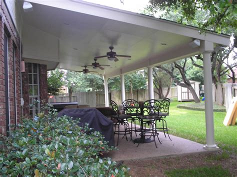 Covered Patio Pics by Aluminum Patio Covers In Houston Lone Patio