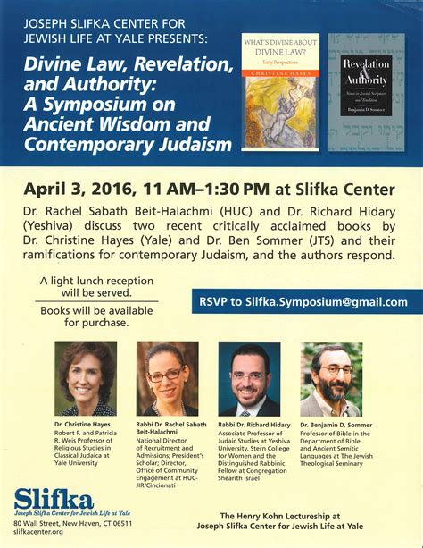 revelation and authority sinai in scripture and tradition the anchor yale bible reference library books slifka center symposium revelation and