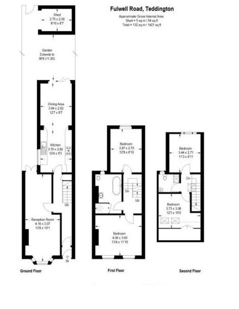 terraced house loft conversion floor plan 11 best terrace house floor plans images on pinterest