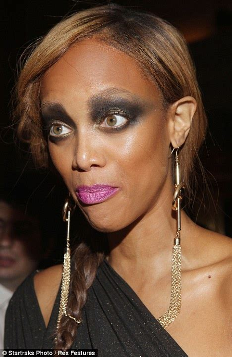 Americas Next Top Models Make Modeling Look Paintful by Banks Unfierce Overdid Makeup Dedetillmanblogs