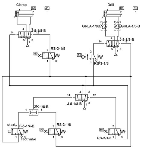 pneumatic diagram simple pneumatic system schematic simple free engine