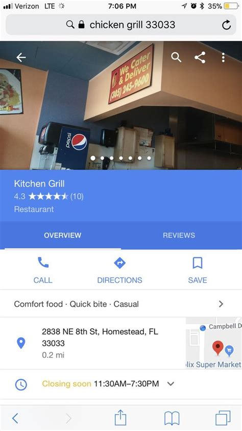Kitchen Grill Homestead Fl by Kitchen Grill 16 Rese 241 As Cocina Latinoamericana 2838