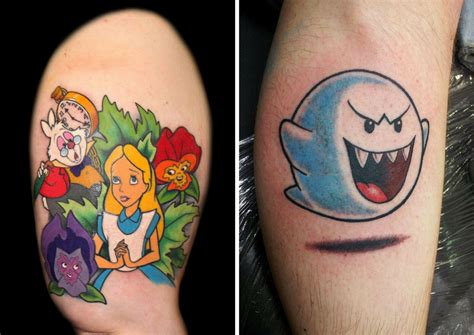 tattoo cartoon characters 15 tattoos of cartoon characters that will make you want