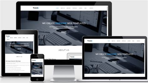 Best Interior Design Websites free bootstrap responsive website template
