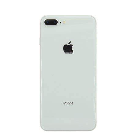 refurbished apple iphone 8 plus 64gb silver unlocked gsm walmart