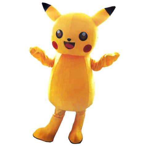 Pikachu Mascot 5 cartton pikachu mascot costume free shipping