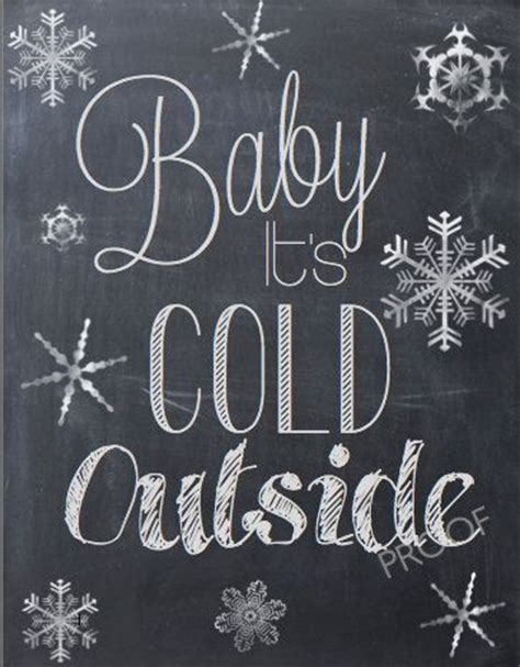 baby it s cold outside printable lyrics pinterest the world s catalog of ideas
