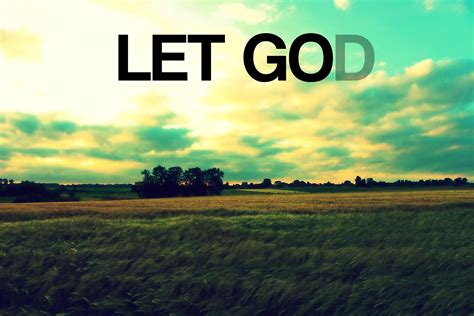 learn to let go and let god youtube