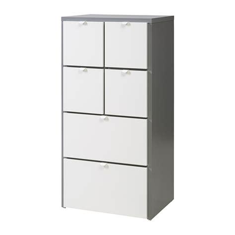 Kleiderschrank Visthus by Visthus Kommode 6 Skuffer Gr 229 Hvid Ikea