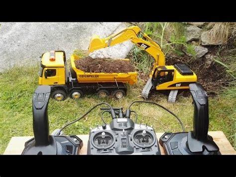Rc Beko Excavator 8 Channel demonstrasi escavator hanifgustiar by hanif gustiar