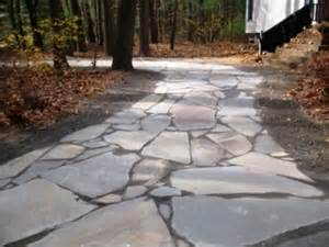 Natural Stone Driveway stone driveway by natural earth garden designs