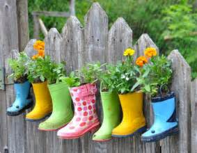 Ceramic Boot Vase 5 Ways To Make A Plant Container Into Garden Art The