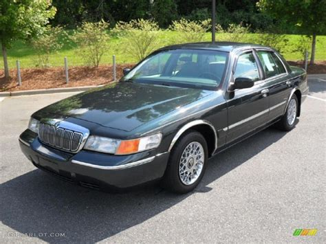 www gray 1999 dark green satin metallic mercury grand marquis gs