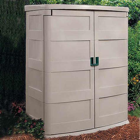 Suncast Vertical Storage Shed Home Depot