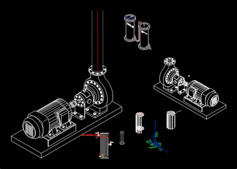 wwtp pipe dwg block  autocad designs cad
