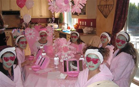 themes for little girl parties kids spa party little girls ideas at home pinterest