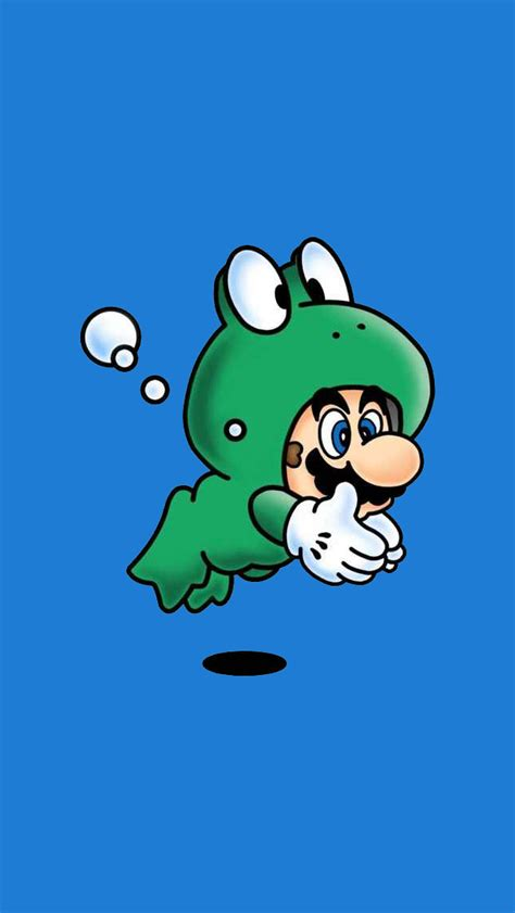 wallpaper for iphone mario frog mario iphone 5 wallpaper 640x1136