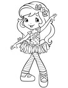 strawberry shortcake 19 coloringcolor