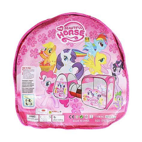 Tenda Anak Pony jual momo pony tenda terowongan mainan anak