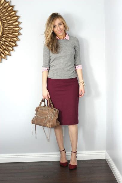 sweater skirt dressed up