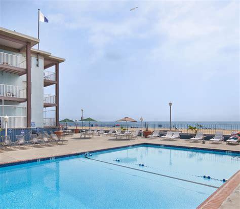 Indoor Courtyard by Flagship Oceanfront Hotel Ocean City Maryland