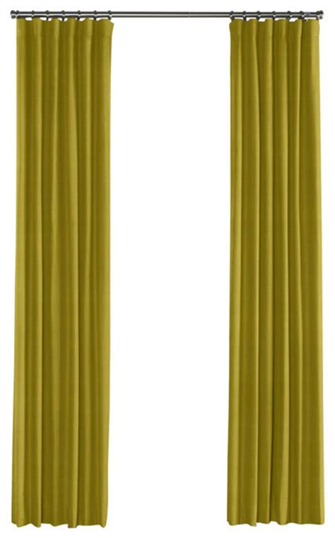 green linen drapes chartreuse green linen curtain single panel ring top