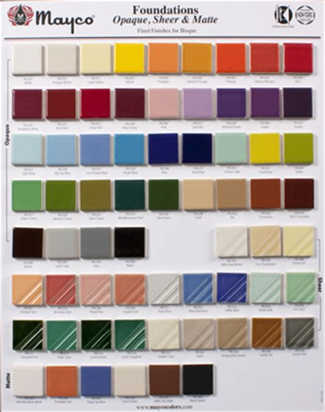 mayco colors mayco colors 28 images duncan glazes color chart