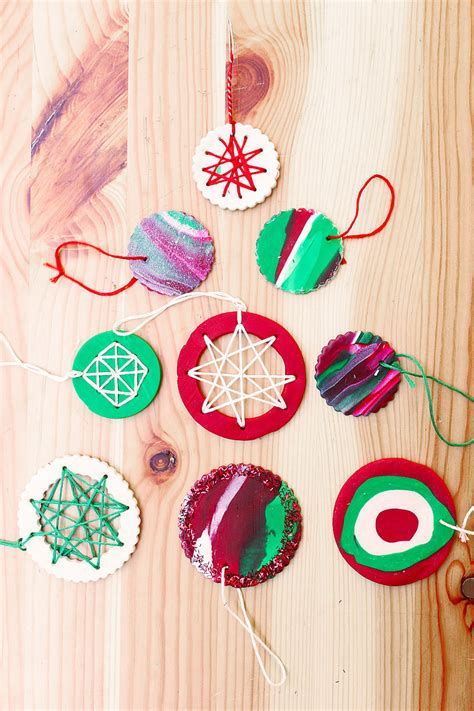 Homemade Christmas Ornaments with Polymer Clay - Babble ... Xmas Ornaments To Make