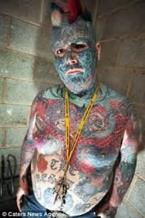 britain s most tattooed man fails in application for