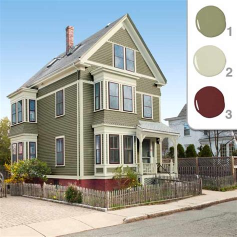 the scheme picking the exterior paint colors this house