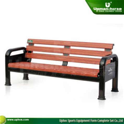 tennis benches for courts china wood look tennis court side bench w back china tennis court side bench