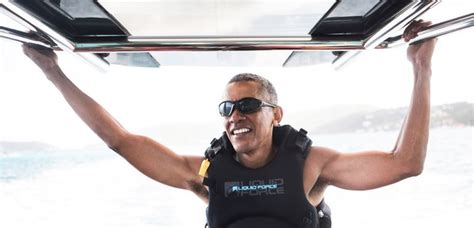 obama necker island barack obama is living his best life on richard branson s