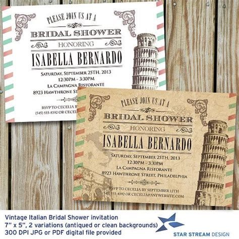 italian themed bridal shower invitations 189 best images about pizza italian idea s on