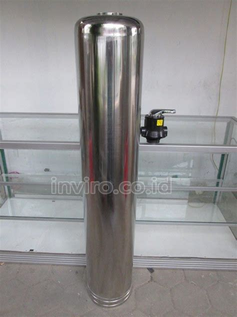 Tabung Filter Stainless Steel 1054 tabung media stainless steel 10 quot 1054 model 3 way valve inviro
