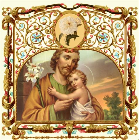 St Joseph S Mba by A 30 Day Novena To St Joseph The Holy Cloak Novena
