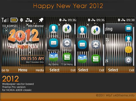 nokia 5233 new year themes search results for nokia clock theme x2 00 new year 2015