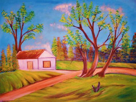 imagenes no realistas faciles paisaje rural arte latino cxa artelista com