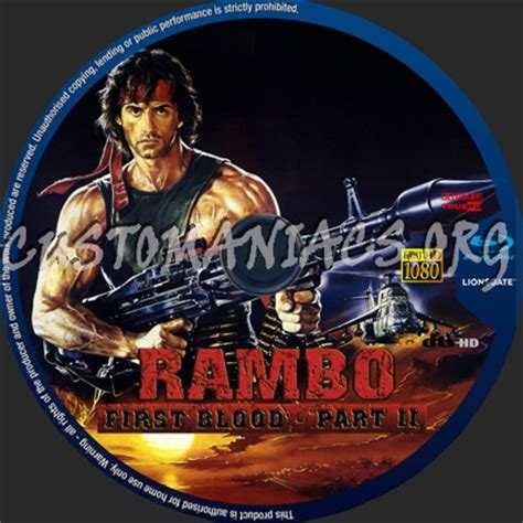 rambo blood part2 forum custom labels page 63 dvd covers